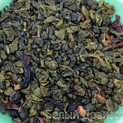 Земляника со сливками зеленый чай