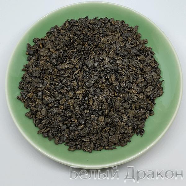 Зеленый чай зеленый порох