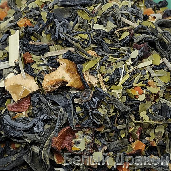 Зеленый фитнес чай