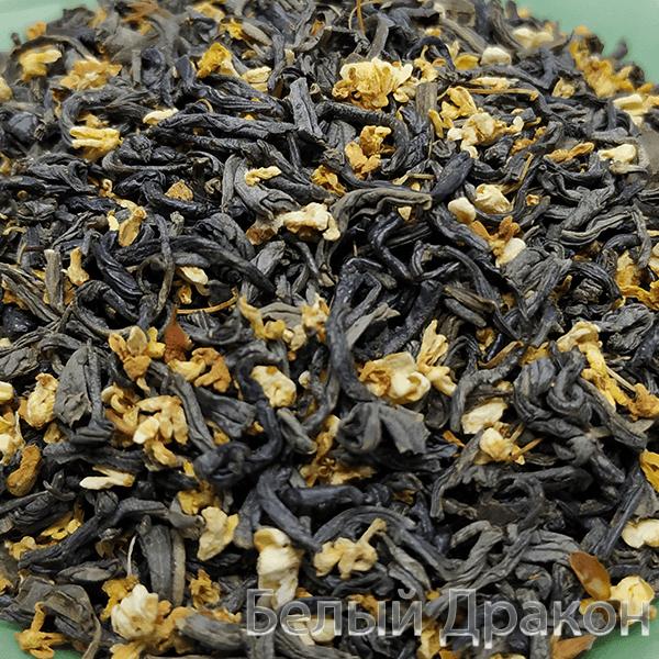 Чай с цветками османтуса