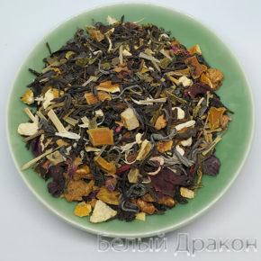 Зеленый чай с цитрусовыми