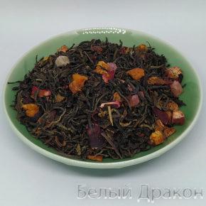 Черный фруктовый чай