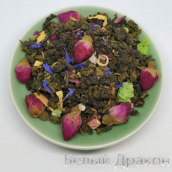 чай цветы дракона