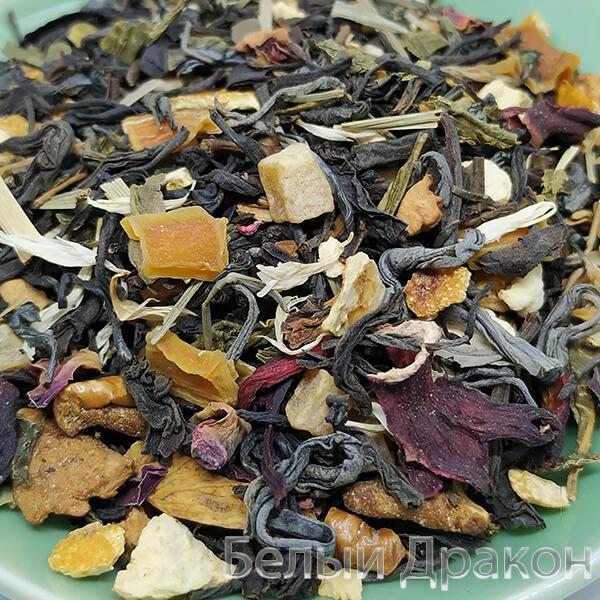 Купить зеленый чай с цитрусовыми